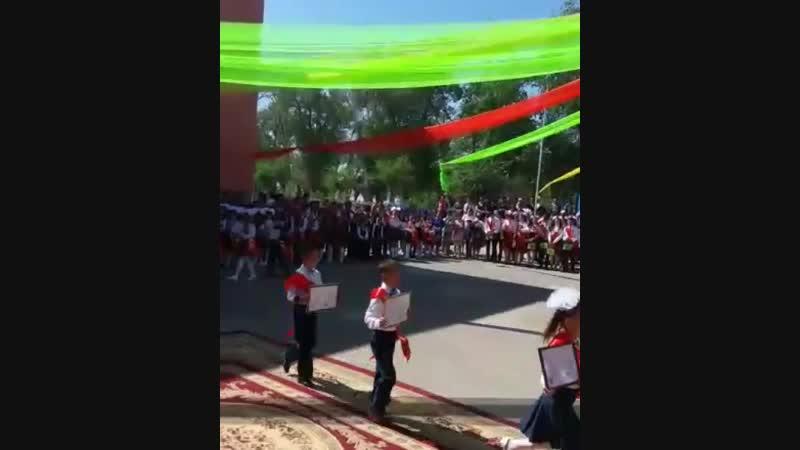 Узлік Озат оқушы Әбіжан Нұрмұхамед