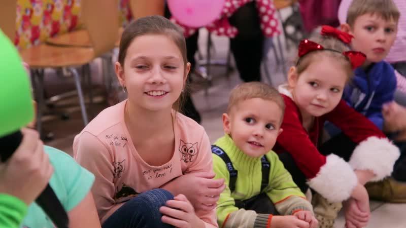 От какого мероприятия дети приходят в восторг в торговом центре Муравей