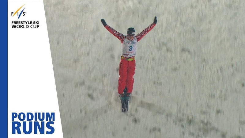 Stanislav Nikitin Men's Aerials Moscow 1st place FIS Freestyle Skiing