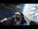 Полёт Российского самолёта МиГ-29 в СТРАТОСФЕРУ на высоту 30 000 местров . Красота! Смотрет всем!