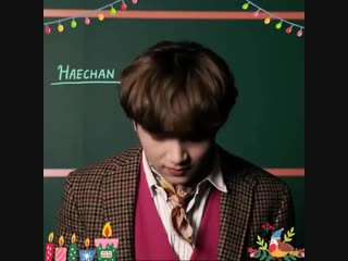 181224 Haechan (NCT) @ SM STATION Facebook Update