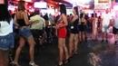 Nightlife in Pattaya Thailand - Soi LK Metro - Ladyboys