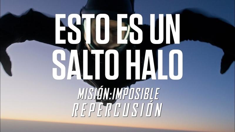 Misión Imposible Repercusión   Detrás de Cámaras   Salto Halo   Paramount Pictures