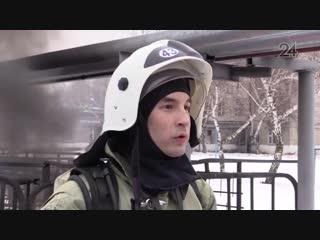 Почетного звания удостоился казанский пожарный на всероссийском фестивале «Созвездие мужества»