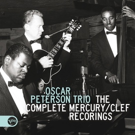 Oscar Peterson альбом The Complete Mercury/Clef Recordings