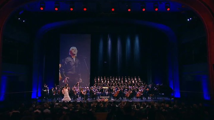 Concert in memory of Dmitri Hvorostovsky- (October 16, 1962 – November 22, 2017) Moscow 16.10.2018