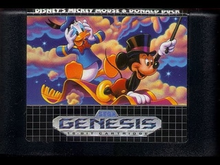 Back in My Childhood Days; World of Illusion: Starring Mickey Mouse and Donald Duck