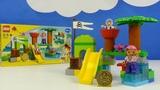Строим из Lego Duplo, LEGO DUPLO 10513 Never Land Hideout – Лего Дупло 10513 Штаб пиратов Нетландии