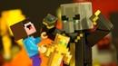 БЕШЕНЫЙ ДЕДУЛЯ 👵🏽 БАБУЛЯ - Лего НУБик Майнкрафт Мультфильмы для Детей - LEGO Minecraft Мультики