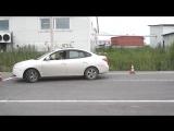 Hyundai Avante параллельная парковка