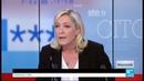Marine Le Pen : Il faut arrêter l'immigration, et geler la construction de toute nouvelle mosquée