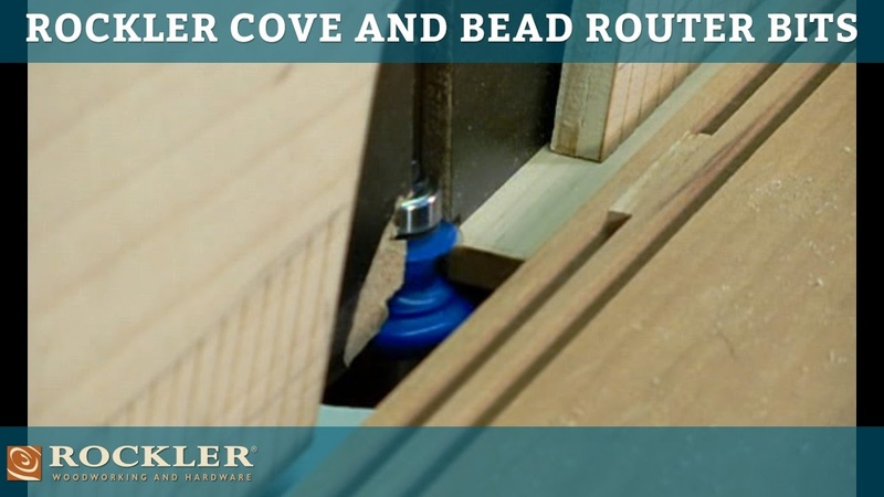 Rockler Cove and Bead Router Bits