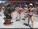 Bushman prank 12 scaring at the 2018 sugar sand festival clearwater beach FL