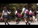 Парад японских школьниц. 女子高生 パレードチーム01 よこはまパレード high school girls parade
