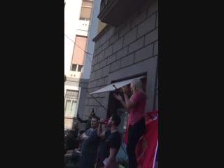 «Красные» в Неаполе | #TAV