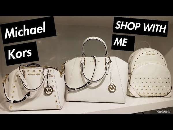 SHOP WITH ME: MICHAEL KORS OUTLET HANDBAGS PURSES | 70% OFF ALL SUMMER SALE TOUR | JUNE 2018
