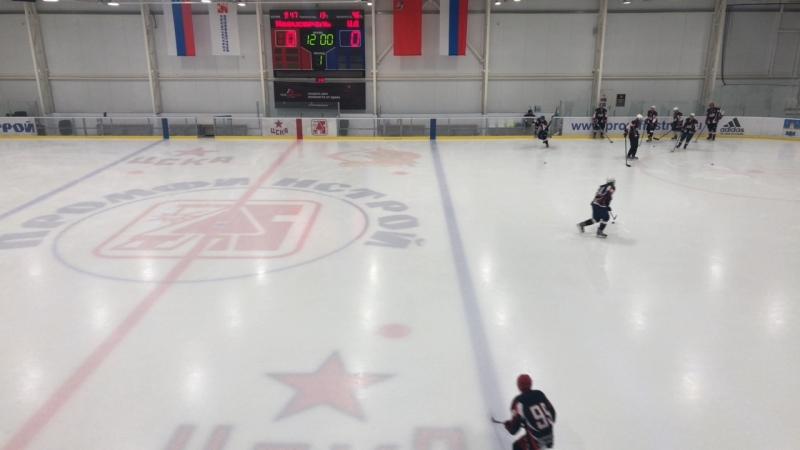 ХК «Магистраль» VS ХК «ЦД» 1-й период матч за 3-е место
