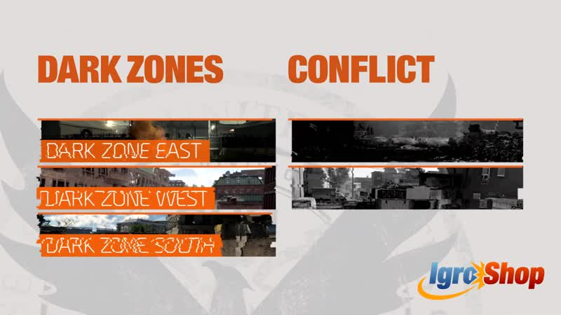 Tom Clancy's The Division 2 Multiplayer Trailer Dark Zones Conflict