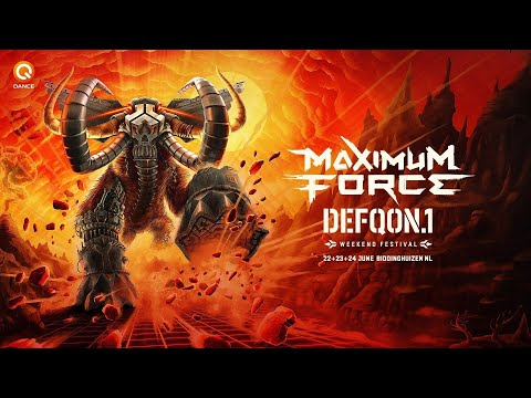 E-Force Live from Defqon.1 festival 2018 BLUE!