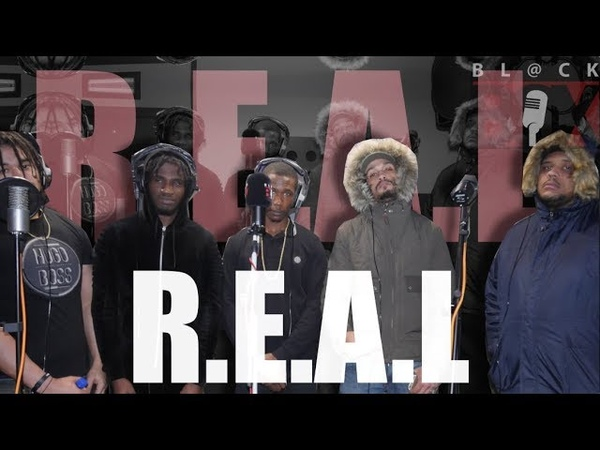 R.E.A.L [Bam Bam, NinjaMan Stinj, Trilla, Coinz, Big Watch] BL@CKBOX CYPHER