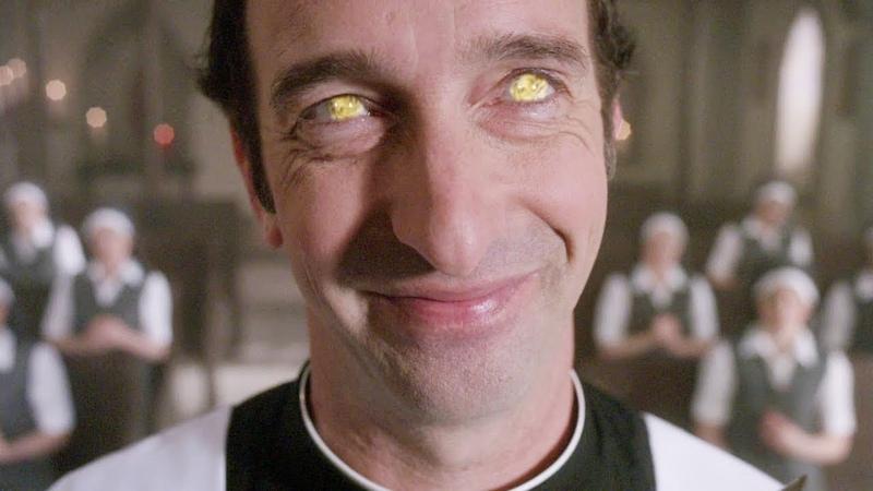 Желтоглазый демон вселяется в монастырского священника   Разговор Люцифера с Азазелем