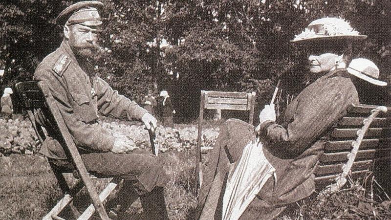 Царь Николай II и его семья в неволе