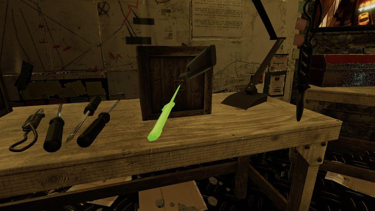 инструменты в Thief Simulator