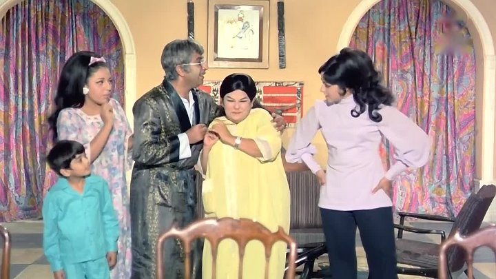 Зита и Гита Seeta Aur Geeta (1972) - Что тут за визг такой