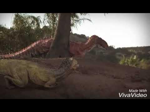 Аллозавр vs Торвозавр.