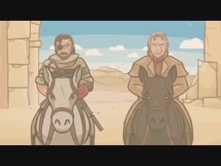 Metal Gear Solid 5 Пародия на русском - Боль Фултона