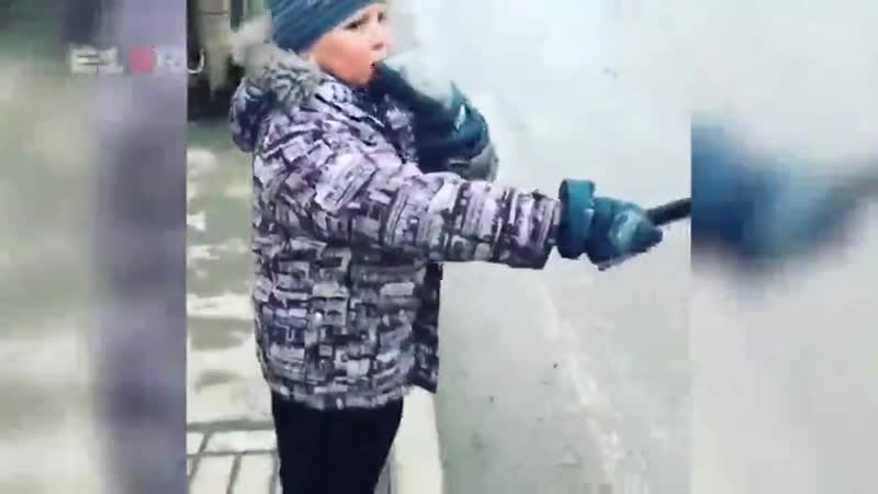 Доброта России Второклассник Артем из Екатеринбурга мечтает работать в ГИБДД