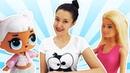 Видео про Куклы Лол, Барби и их друзей изучаем технику!
