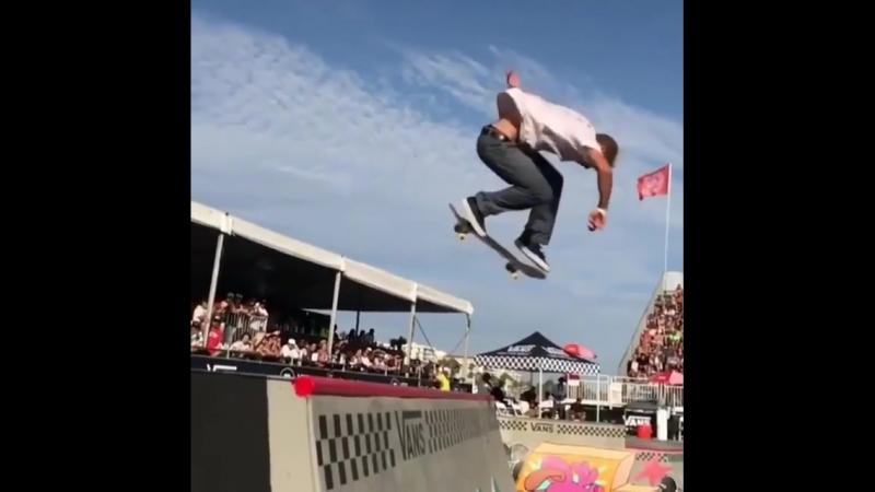 Jake Wooten 🔥 Nollie Big Heel Fs Losi for the 2018