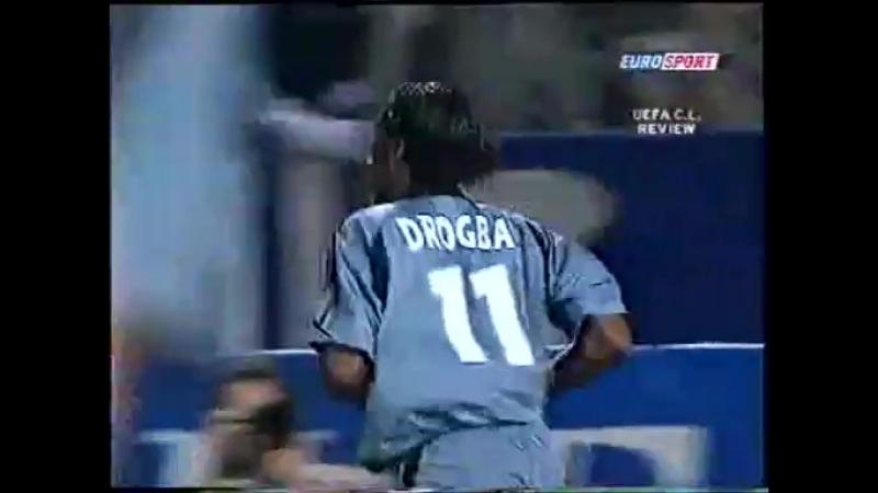 144 CL-2003/2004 Olympique Marseille - Partizan 3:0 (01.10.2003) HL