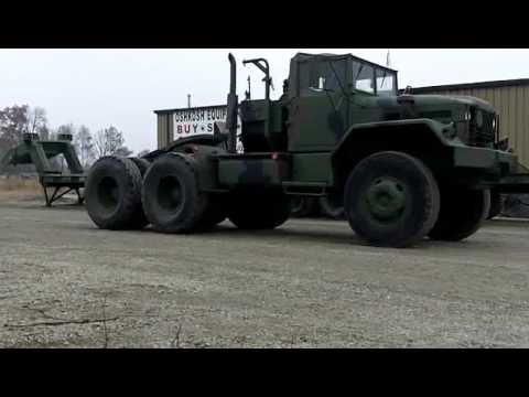M123A1C 10 Ton 6x6 Tractor Truck