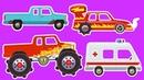ТОП-5 серий - Тачки - Тачки - Лучшие мультики про машинки для детей | Cars Cars - For Kids