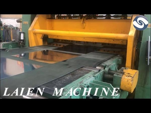 Automatic rotary shear machine line,high speed cut to length machine line