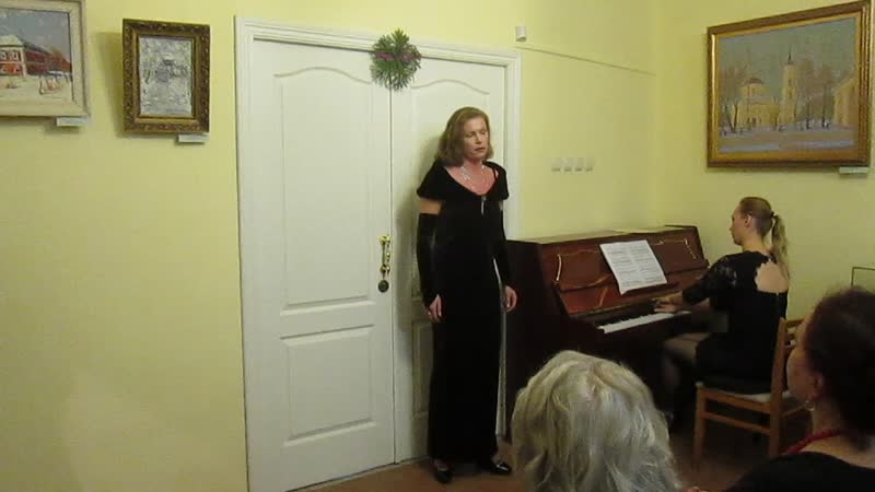 Кусочек концерта. За фортепиано Татьяна Радошнова.