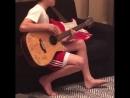 13-летний Круз Бэкхем исполняет кавер на известный сингл Джастина Бибера Love Yo