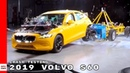 2019 Volvo S60 Crash Testing