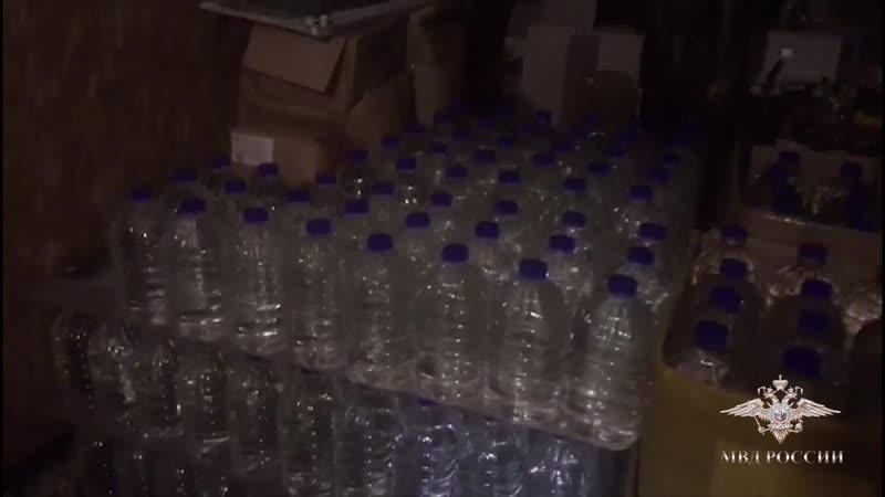 МВД по Татарстану задержало поставщиков 17 тонн контрафактного алкоголя