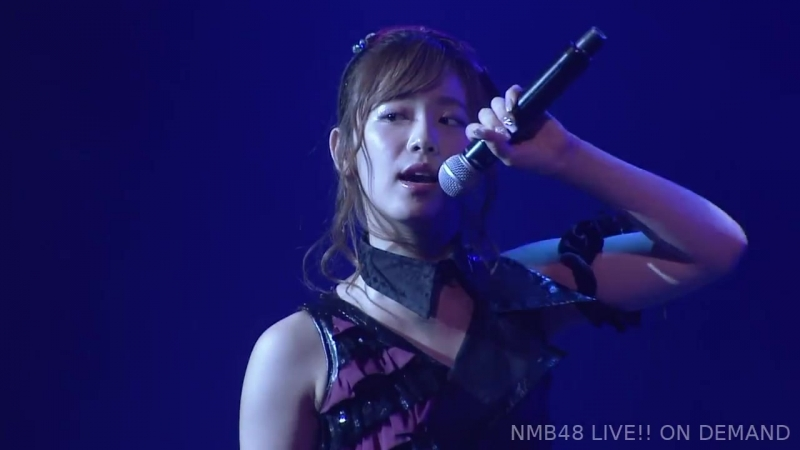 NMB48 Team BII 4th Stage Renai Kinshi Jourei (Выпускной стейдж Окиты Аяки 2018.09.06)