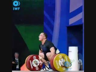Спортсмен из Прикамья выиграл Чемпионат мира по тяжелой атлетике