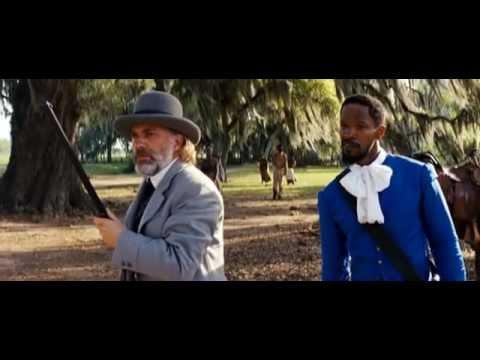 Django Unchained - Persuaso_Django (Jamie Foxx) e il Dr. King Schultz (Christoph Waltz)