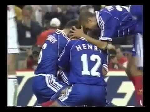Gol de Lilian Thuram en Francia 1998