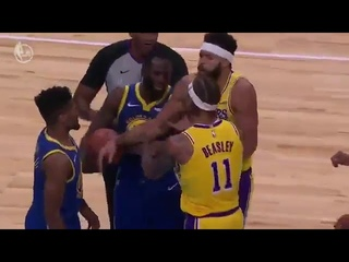 Draymond Green And Michael Beasley Fight Beasley Gets Ejected