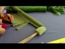 Основа для ручного вертикального букета из конфет Мастер класс