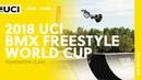 2018 UCI BMX Freestyle World Cup - Edmonton (CAN) / Men Park