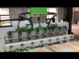 8 heads 4axis cnc engraving machine, Jordan 3d wood carving machine