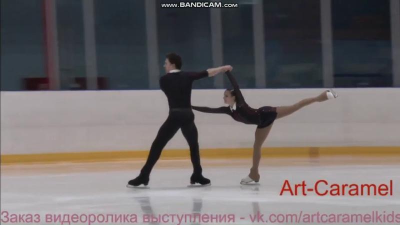 Богдана Лукашевич - Александр Степанов КП МС Мемориал Панина 2018